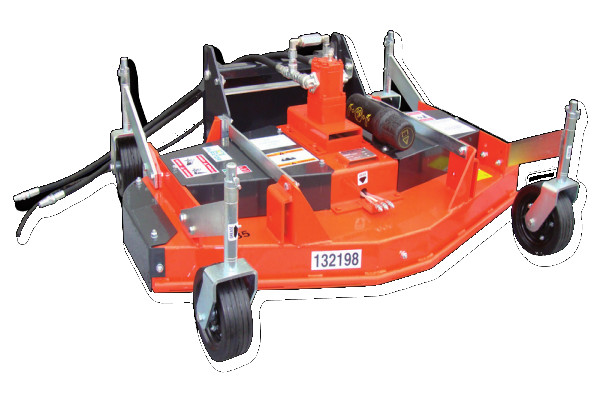 MR ID - Finishing mower with hydraulic transmission