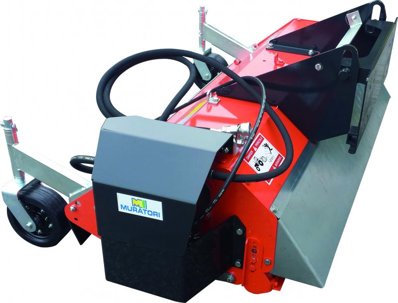 MT 15 ID - Flail mower with hydraulic transmission
