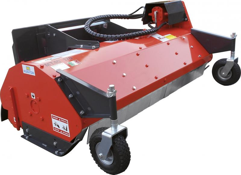 MT40 ID - Flail mower with hydraulic transmission