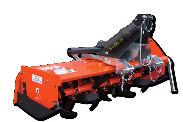 MZ4S - Offset rotary hoe for tractors up to 40 HP