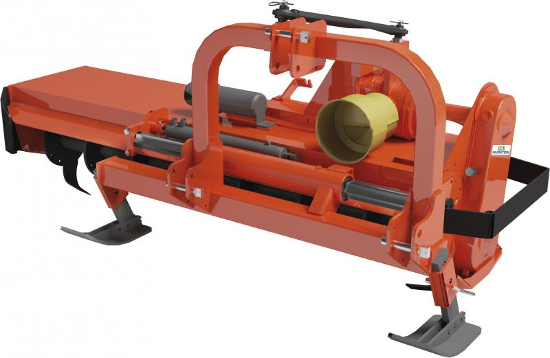 MZ9SI- Hydraulic- offset rotary hoe for tractors up to 70 HP